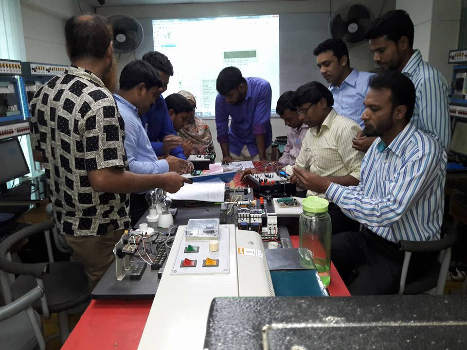 Advanced Micro Controller Training for Youth Development Department