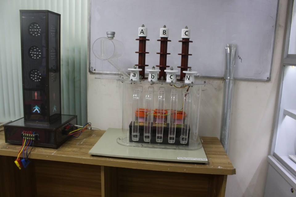 Three Phase Transparent Transformer