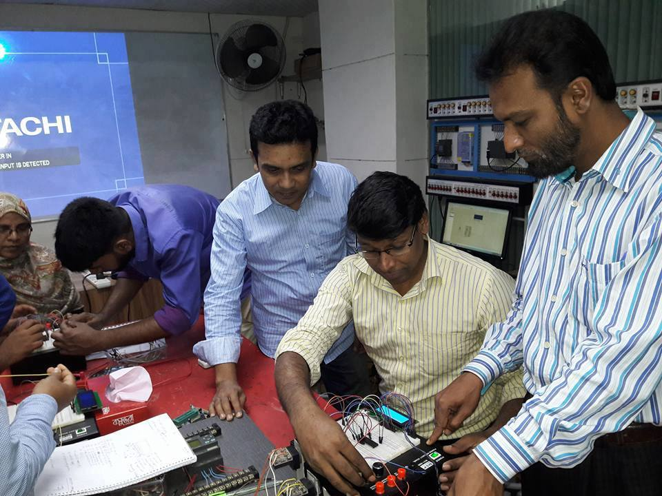 Micro Controller Training for Youth Development Department